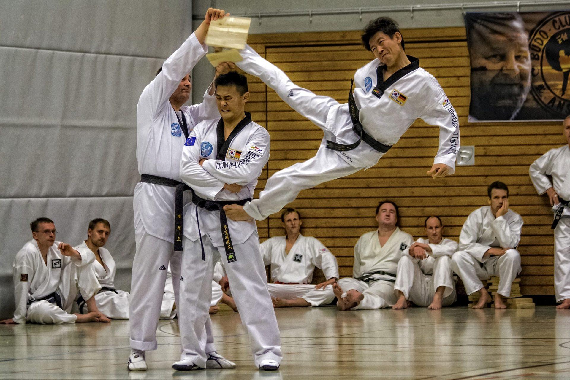 Sportfotografie - Kampfsport