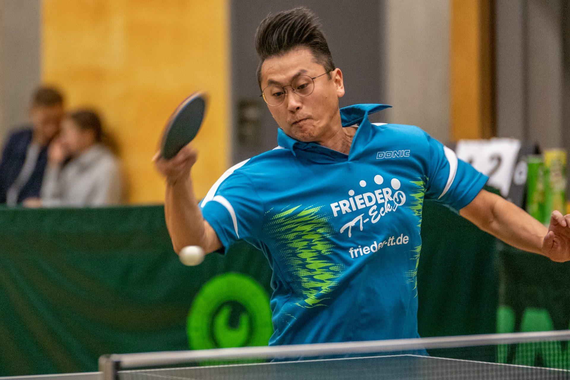 Sportfotografie - Tischtennis