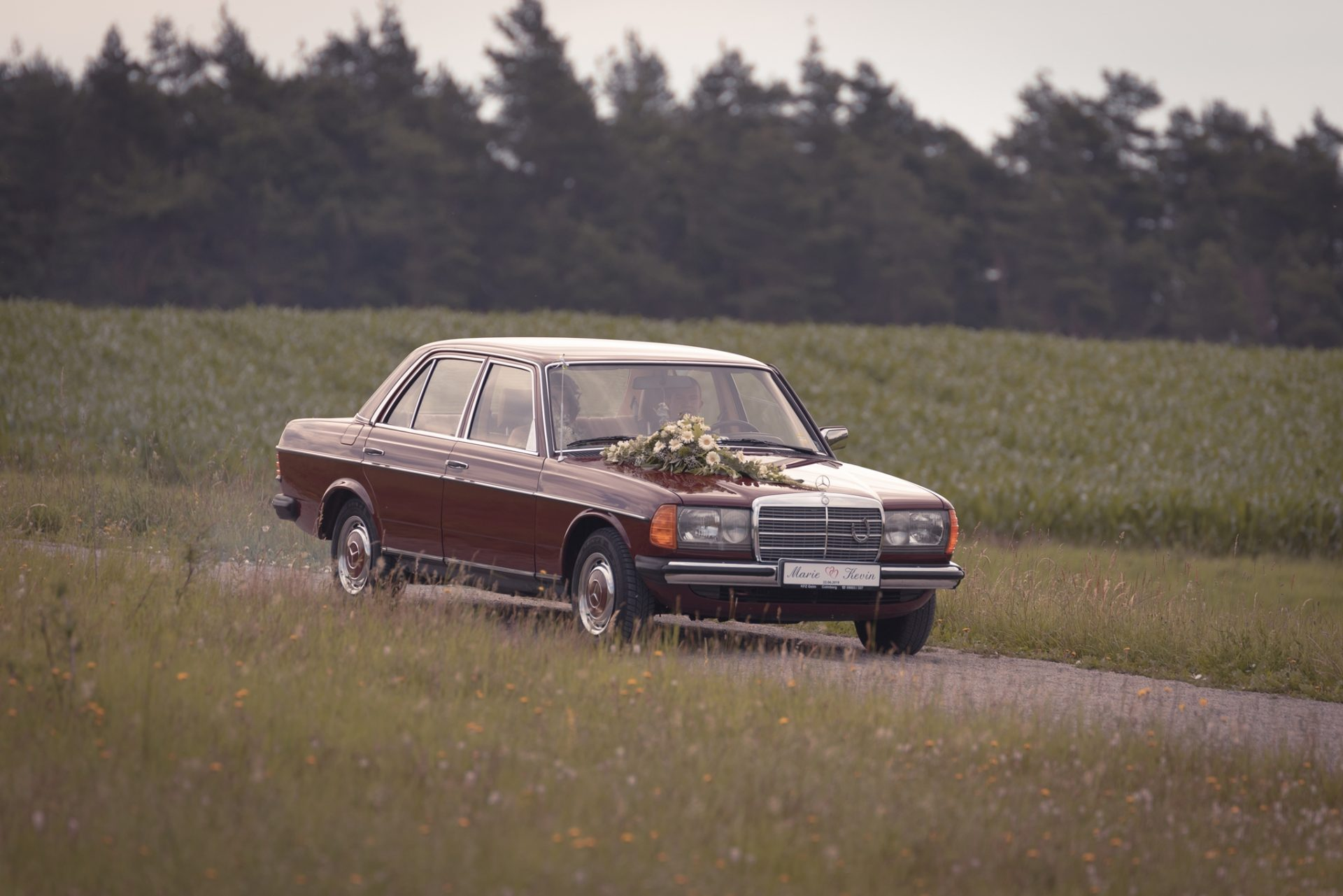 Hochzeitsfotografie - Brautauto