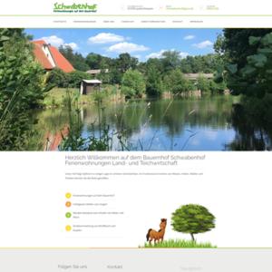 Webseite für Ferienhof