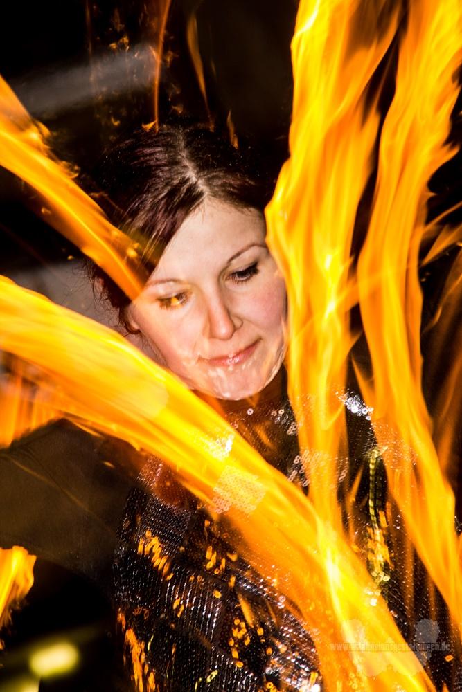 Eventfotografie - Feuershow