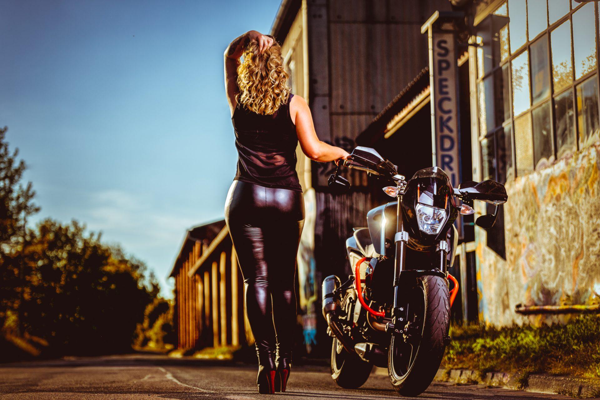 Biker-Fotografie