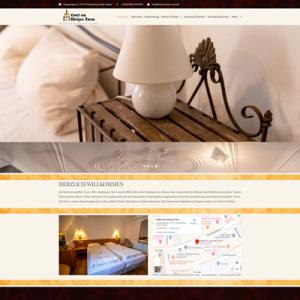 Webseite für Hotel