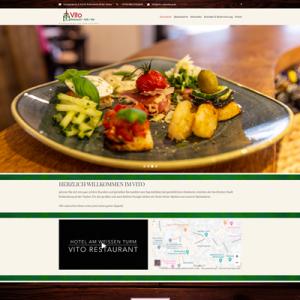 Webseite für Restaurant
